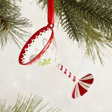 martini peppermint peppermint martini glass ornament pier 1 index pinterest