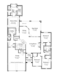 French Cottage Floor Plans House Plan 2365 Square Feet French Country Home Style Design