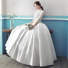 Long Sleeved Wedding Dresses Aliexpress Com Buy Real Photo Cheap Long Sleeve Wedding Dress
