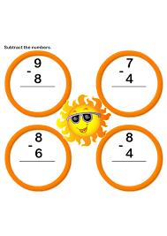 math worksheets kindergarten worksheets subtraction worksheets