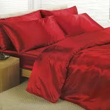 satin bedding sets 6 piece set duvet cover fitted sheet