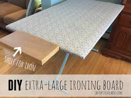 quilting ironing board table oversized ironing board tutorial heather s handmade life