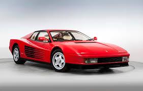 retro ferrari 14 images ferrari 1987 91 testarossa pininfarina red retro cars