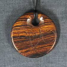 wood pendants necklace images Cocobolo wooden pendant necklace zen cart the art of e commerce jpg