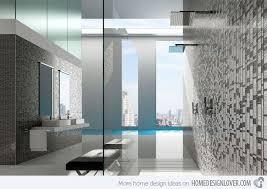 mosaic tile bathroom ideas 16 unique mosaic tiled bathrooms home design lover
