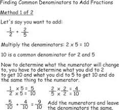 arithmetic add fractions adding fractions and math