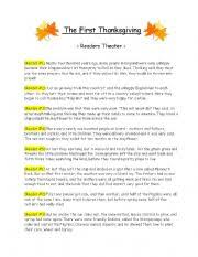 the thanksgiving readers theater