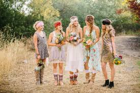country dresses for weddings top 18 mismatched bridesmaid dresses ideas zoomzee org