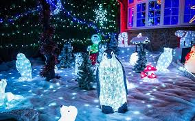 is this britain u0027s most festive house 50 000 christmas lights