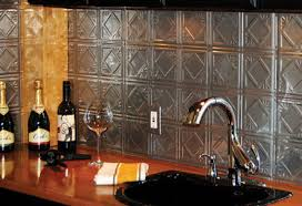 Kitchenscom Backsplash Bling Kitchenology Blog - Tin ceiling backsplash