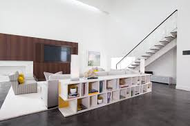 Console Bookshelves by Sofa Table With Storage Family Room Beach With Baskets Bookcases