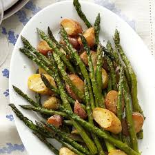 Asparagus Dishes Main Course - rosemary roasted potatoes and asparagus recipe taste of home