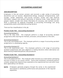 13 job description templates free sample example format