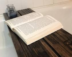 Wood Bathtub Caddy Bathtub Caddy Etsy