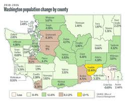 County Map Washington State by Newcomers Flock To Clark County The Columbian