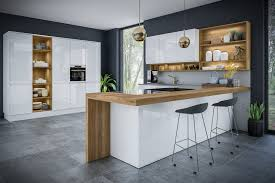 white gloss kitchen doors integrated handle jayline handleless white high gloss kitchen doors drawer fronts