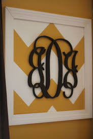 Kitchen Wall Decorations by 25 Best Monogram Wall Decorations Ideas On Pinterest Burlap