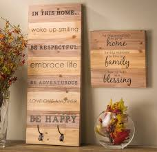 wood wall hanging planks craft warehouse