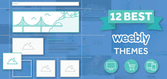 12 best free premium responsive and custom weebly themes