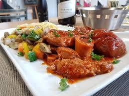 osso bucco cuisine et vins de osso bucco au vin blanc pâtes fraîches et légumes d automne