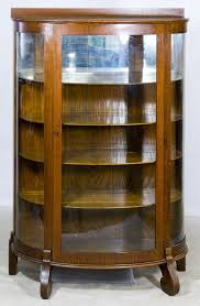 curved glass china cabinet curved glass cabinet doors image collections glass door design