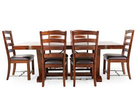 high harvest furniture rustic seven piece dining set mathis