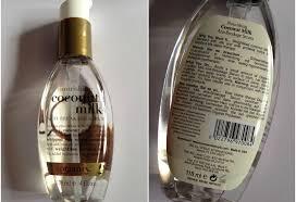 Serum Rd organix coconut milk anti breakage serum review organic skin care