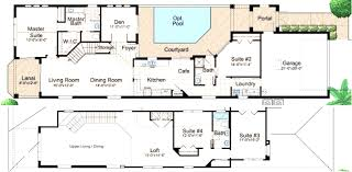 floor plans with courtyards fancy ideas 8 floor plan courtyard house center plans homeca