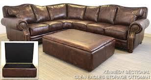 Leather Ottomans Leather Ottomans Styles The Leather Sofa Company