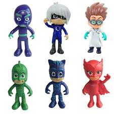 fg004 u2022 pj mask action figure figurine cake toppers toy toys