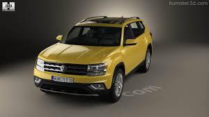 volkswagen philippines 360 view of volkswagen atlas sel 2018 3d model hum3d store