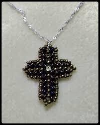 bead cross pendant necklace images Cross pendant tutorial jpg