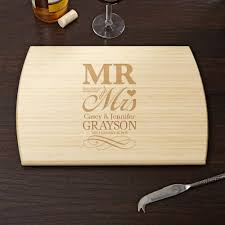 personalized engraved cutting board wedding day personalized cutting board 10x14 with engraved cutting
