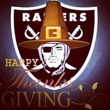 raiders vs cowboys thanksgiving raiders and