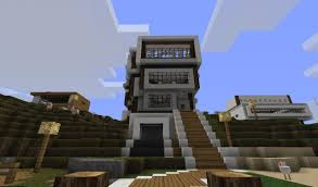 Houses Designs Modern House Designs Minecraft Project