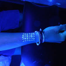 Black Light Tattoos 30 Creative Black Light Tattoos You Can See Only Under Uv Light