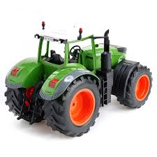 amazon com cheerwing 2 4ghz 1 16 rc farm tractor remote control