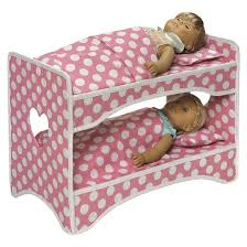 Target Our Generation Bed Badger Basket Double Doll Travel Case With Bunk Bed Target