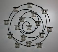 Threshold Candle Holder by Spiral Candle Holder Wall Sconce U2022 Wall Sconces