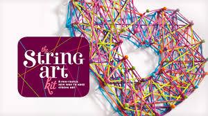craft tastic string art kit youtube