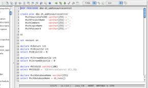 tutorial oracle stored procedure database stored procedure editor
