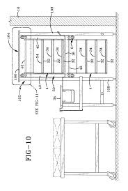 Cafeteria Floor Plan by Patent Us7051866 Cafeteria Tray Accumulator Google Patents