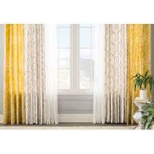Asian Curtains Asian Print Curtains Wayfair