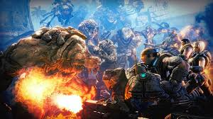 wallpaper gears war brothers till art hd picture image