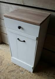 tilt out trash bin cutting board trash can cabinet kitchen