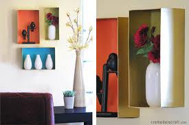 How To Make Wall Shelves Diy Wall Shelves From A Shoebox