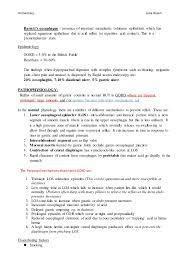 Sample Volunteer Resume by Gastro Oesophageal Reflux
