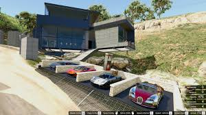 5 Car Garage by Millionaire Waterfall Mansion Garage Waterfall Chill Area
