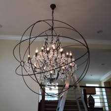Entry Chandelier Hanging Large Entry Chandeliers Home Decorations Romantic