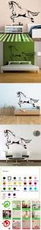 212 best wall deco images on pinterest metal walls metal wall hot jumping horse cute girls animal wall art stickers decal diy home decoration wall mural removable bedroom sticker 55x83cm